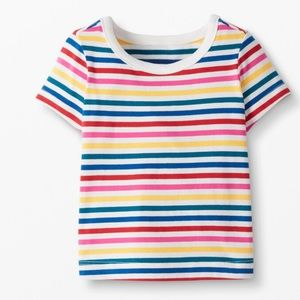 NWT Hanna Andersson Striped Cotton Tee